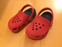 Kids Crocs size 5