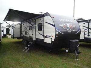 2019 Puma 31DBTS 2 bedroom Travel Trailer- Quad bunks- 3 slides