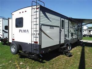 2017 Puma 31BHSS 2 bedroom Travel Trailer with Outside Kitchen Stratford Kitchener Area image 3