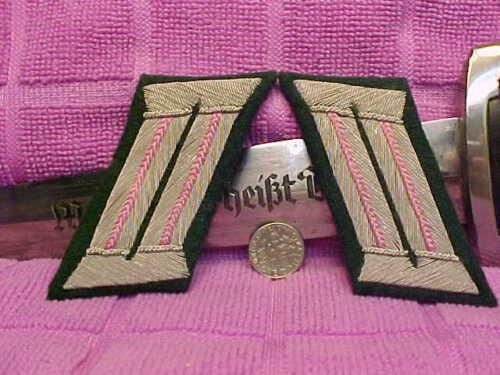 German WWII Orig Heer Army Panzer Officer