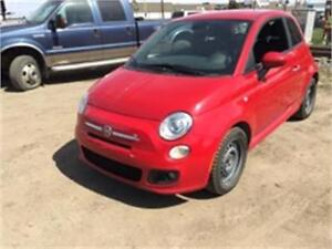 2012 FIAT 500 Sport cute and good on fuel!!