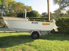 stacer 4.6 mtr.center console alloy boat $5800 Ingle Farm Salisbury Area Preview