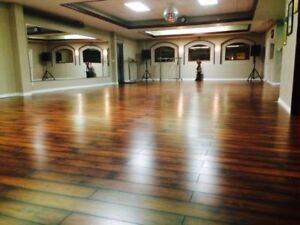 Downtown Brampton Dance studios available for hourly rent