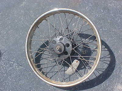 ROYAL ENFIELD REAR WHEEL  TWIN MOTORCYCLE
