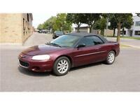 ***2002 Chrysler Sebring LX / AUTOMATIQ / MAGS / CONVERTIBLE ***