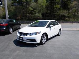 2013 HONDA CIVIC LX...LOADED!! ONLY 81,000 KMS!! APPLY TODAY!!