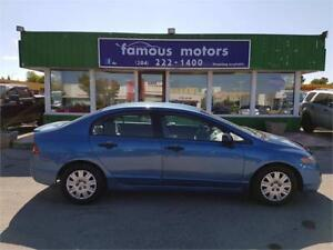 2008 Honda Civic Sdn DX-A/CLEAN TITLE/MINT CONDITION/REDUCED!
