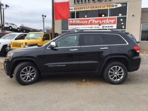 2014 Jeep Grand Cherokee LIMITED 4X4|LEATHER|SUNROOF|BACK-UP CAM