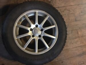 BF Goodrich Winter Tires 215/60/R16 Set of 4 on Rims