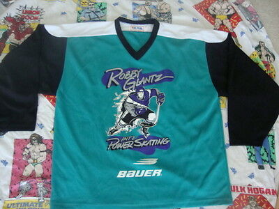 (ROBBY GLATZ Power Ice Skating Hockey Jersey Men's Size XL)