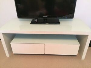Tv cabinet - modern design (white) Lane Cove Lane Cove Area Preview