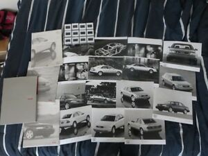 Rare 1997 Audi Car full line Press Kit Brochure Photos A8 S6 A4 Cambridge Kitchener Area image 2