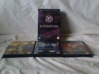 Supernatural DVD TV series 1 - 3