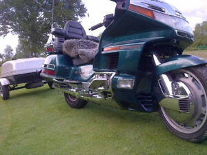 1995 Honda Gold Wing and Trailer