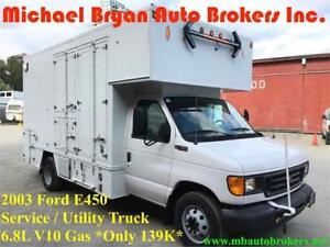 2003 FORD E450 SERVICE TRUCK / UTILITY TRUCK *ONLY 139K* RARE