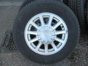 215/70/15 Mud and Snow tires with or without rims