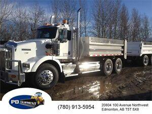 2011 Kenworth T800 T/A Dump Truck