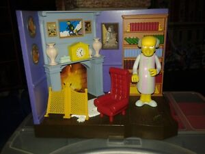 The Simpsons Mr Burns Figure and Playset
