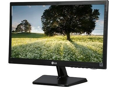 "شاشة ليد جديد LG 20M37D-B Black 19.5"" 5ms Widescreen LED Backlight LCD Monitor"