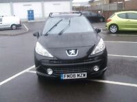 PEUGEOT 207 GT HDI (black) 2008