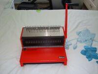 Ibico manual binding machine