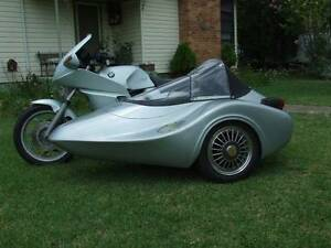 1988 BMW K100RS and single seater and 1987  NK Auto's SIDECAR Coonabarabran Warrumbungle Area Preview