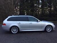 2009 09 BMW 5 SERIES 3.0 530D M SPORT TOURING 5D AUTO 232 BHP AUTO DIESEL