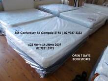 Brand New Beds Sale in Sydney Mattress Factory Chatswood Willoughby Area Preview