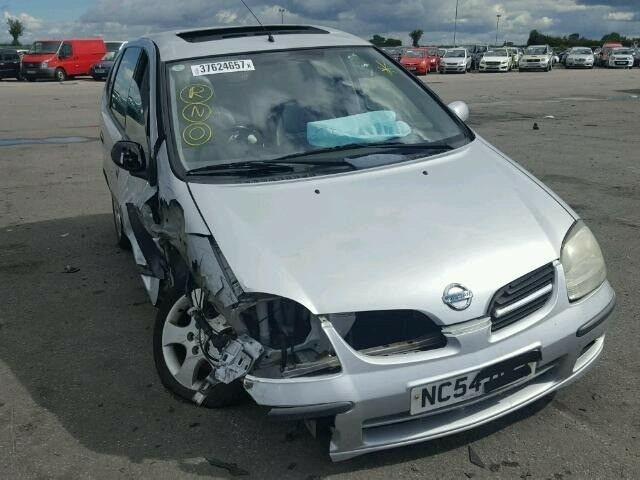2005 NISSAN ALMERA TINO PASSENGER SIDE HEADLIGHT (BREAKING)