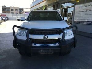 2013 Holden Colorado RG MY13 LX White 5 Speed Manual 4D CAB CHASSIS Hamilton Newcastle Area Preview