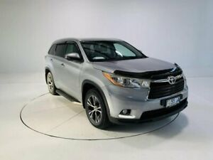 2016 Toyota Kluger GSU50R GXL 2WD Silver 6 Speed Sports Automatic Wagon Cooee Burnie Area Preview