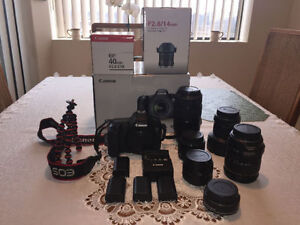 Selling Canon 6D + Lenses