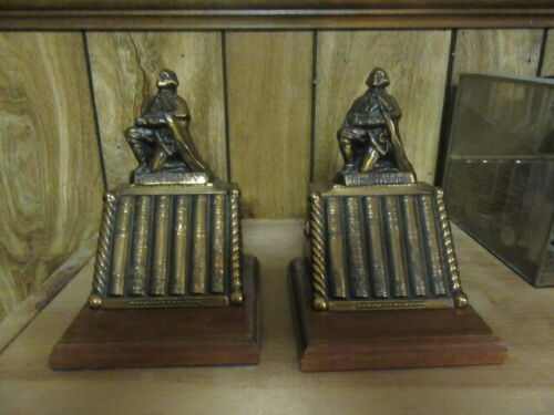 Onward for God & Country Boy Scout Bookends, 1950