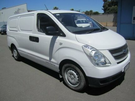 2012 Hyundai iLOAD TQ2-V MY13 Clear White 6 Speed Manual Van St Marys Mitcham Area Preview