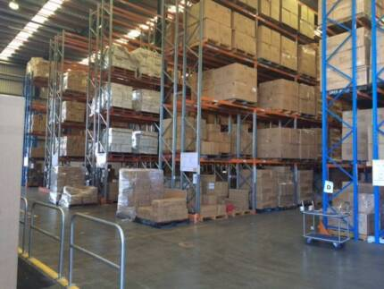 Pallet Storage Sydney! Warehouse space for rent.