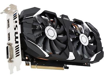 MSI GeForce GTX 1060 DirectX 12 GTX 1060 3GT OC 3GB 192-Bit GDDR5 PCI Express 3.