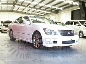 2007 Toyota Crown Athlete GRS184 White Automatic Sedan Bayswater Knox Area Preview