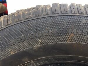 4 Avalanche Xtreme 265/70R15 Winter Tires