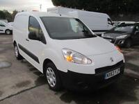 Peugeot Partner L1 850 S 1.6 Hdi 92PS Van SLD DIESEL MANUAL WHITE (2013)