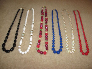 Several Necklaces ( 1940's - 50's - 60's - 70's )