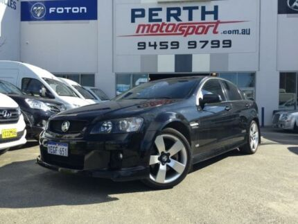 2009 Holden Commodore VE MY09.5 SS-V Black 6 Speed Manual Sedan Beckenham Gosnells Area Preview