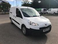 Peugeot Partner L2 716 1.6 92 CREW VAN EURO 5 DIESEL MANUAL WHITE (2014)
