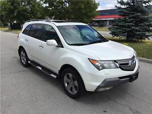 2007 Acura MDX ELITE*NAVI*CAMERA*DVD*NO ACCIDENTS