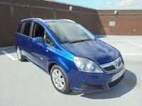(06) 2006 Vauxhall/Opel Zafira 1.8i Active 7 SEATER Service History 1 Years MOT