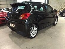 2012 Mitsubishi Mirage LA MY14 LS Black 5 Speed Manual Hatchback Murarrie Brisbane South East Preview