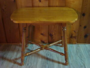 Vintage Side Table Solid Maple