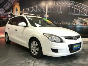 2010 Hyundai i30 FD MY11 SX White 4 Speed Automatic Wagon Prospect Blacktown Area Preview