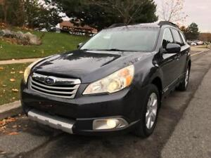 2011 SUBARU OUTBACK, 1 OWNER, LOW KM, CERTIFIED