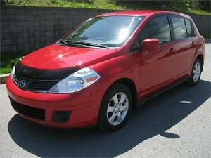 2009 NISSAN VERSA 1.8 SL HB (AUTOMATIQUE, AIR, MAGS, FULL!!!)