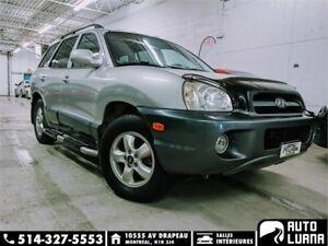 2005 Hyundai Santa Fe GL 4x4/DÉMARREUR/MAGS/AC/GRP EL/*98000KM*